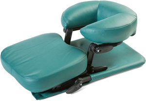 Vitrectomy recovery chair and facedown support product